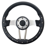 custom golf cart aviator steering wheel