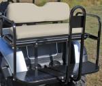 custom golf cart rear seat